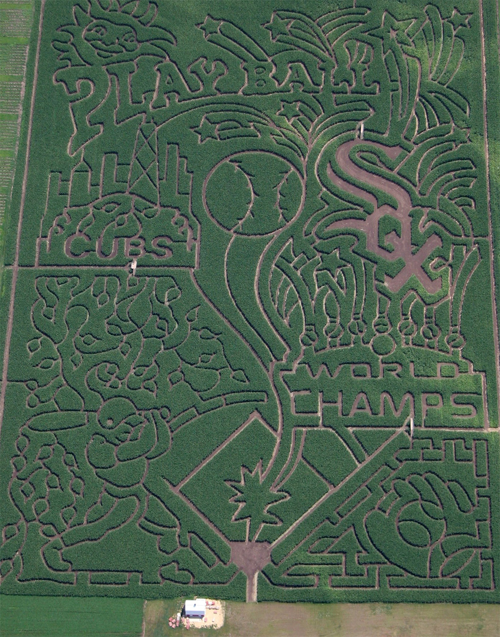 2006 Corn Maze - Play Ball!