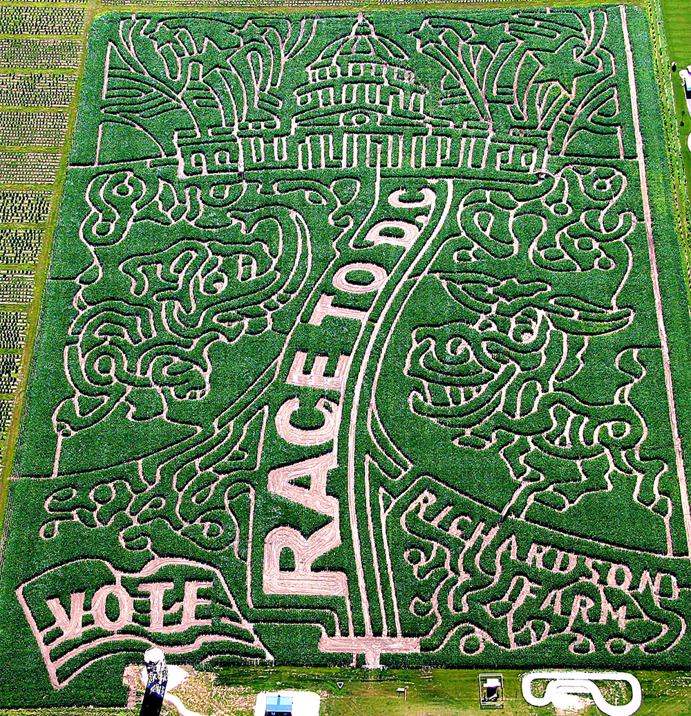 2008 Corn Maze - Race to DC