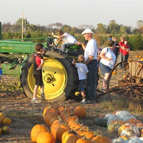 Fall Family fun in the countyside of Northern Illinois