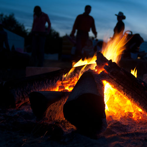 Reserve a private campfire for your next event!