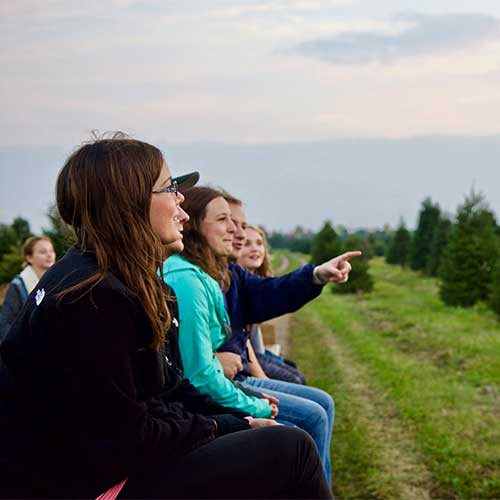 Reserve a private hayrides for your next group event